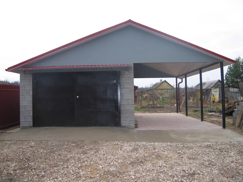 Как построить гараж - проект и фото