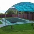 Навес для бассейна в СПб